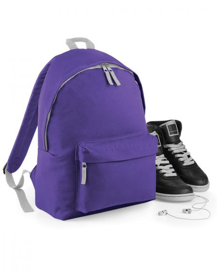 personalised backpack purple